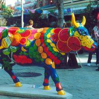 vaca artística en el centro histórico, Кирби