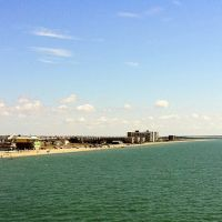 View of the Beach from the USS Lexington, Корпус-Кристи