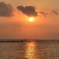 Fishermen in Corpus Christi Bay, Корпус-Кристи