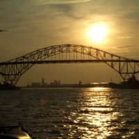 Harbor Bridge Sunset, Корпус-Кристи