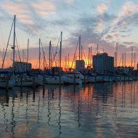 Corpus Christi Harbor at Sunset, Корпус-Кристи