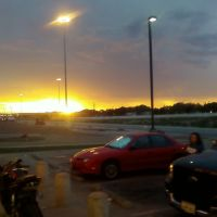 Sunset from Autozone, Лаббок