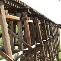 BNSF Railway Trestle, Лаббок
