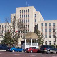 Lubbock County Courthouse, Lubbock, Texas, Лаббок