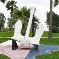 The Anchor from the SS Grandchamp Whose Explosion Caused the Deadliest Industrial Disaster in U.S. History, Лакленд база ВВС