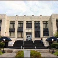 Liberty County Courthouse, Liberty, Texas, Либерти