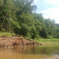 Erosion on the banks of the Sabine, Либерти-Сити