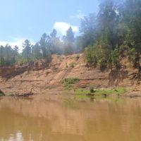 Cliffs on the river, Либерти-Сити