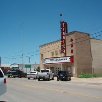 Old Movie Theater, Luling, TX, Лулинг