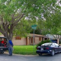 McAllen TX: Residential area at S 7th St and B-C Ave / Wohngegend, Мак-Аллен
