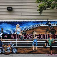Mural, Malakoff, Texas, Малакофф