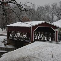 Covered Bridge at Pinnacle Club, Малакофф