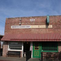 Lubbock, Browns Barber Shop, Нью-Хоум