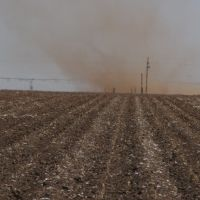 Dust and wind in Lubbock TX, Нью-Хоум