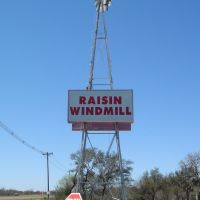 Raisin Texas Windmill, Одем