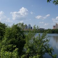 Lady Bird Lake. Austin, Texas., Остин