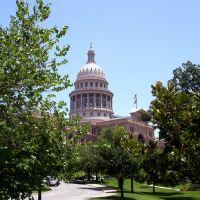 Capitol of Austin TX. left Side, Остин
