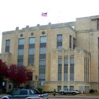 Palacio de Justicia del Condado Travis en Otoño, Остин