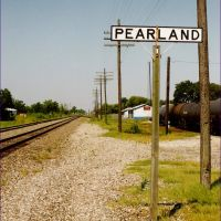 Pearland (near Houston, TX), site of former railroad station, Пирленд