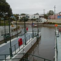 Lock & Dam on the Riverwalks Museum Reach - 10 OCT 2009, Пирсалл
