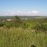 Looking northeast into Camp Bullis from East Tejas Trail, Пирсалл
