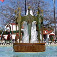Richardson Civic Center fountain, Ричардсон