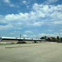 Dart Train, Richardson, TX, Ричардсон