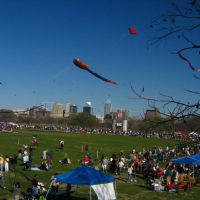 "Annual Kite Festival at Zilker Park.  Winner of the ""Larget Kite of the Year"" Contest., Роллингвуд"
