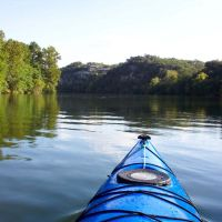 Kayaking around Red Bud Isle, Роллингвуд