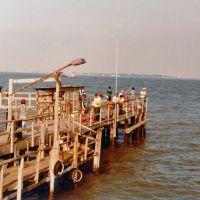 Fishing Pier on the Dike, Сагинау