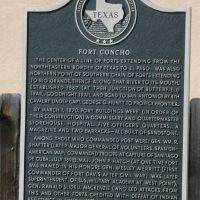 Fort Concho Historic Marker, Сан-Анжело