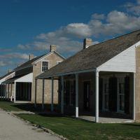 Fort Concho - Officers Row, Сан-Анжело