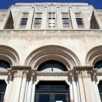 Face of the former San Angelo City Hall, Сан-Анжело