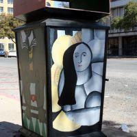 Street Art - homage to F. Leger - San Angelo, Сан-Анжело
