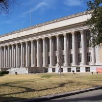 Tom Green County Court House, San Angelo, Texas, Сан-Анжело