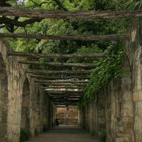 The Alamo - South Walkway, San Antonio, Texas, Сан-Антонио