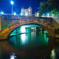 River walk, San Antonio, TX, Сан-Антонио