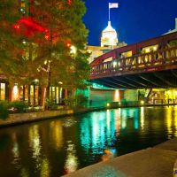 River walk, San Antonio, TX, Сан-Антонио