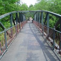 footbridge in San Antonio, Сан-Антонио