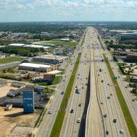 Gulf Freeway, Саут-Хьюстон