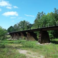 Railroad Bridge at Caney Creek, Сплендора
