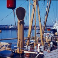 Galveston 1961/1962 MS Lüneburg, Тексас-Сити