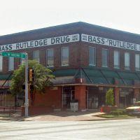 Bass-Rutledge Drug Store, Terrell, Texas, Террелл