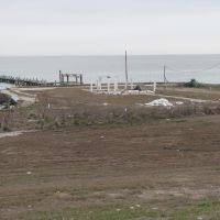 Texas City, Skyline Dr., post-Ike, Тралл
