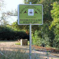 Designated Bird Feeding Area - Birding trail with nature education extras, Фармерс-Бранч