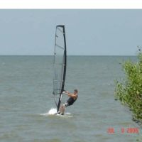 Windsurfing Galveston Bay, Худсон
