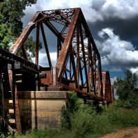 Trestle over the Brazos River, Эль-Кампо