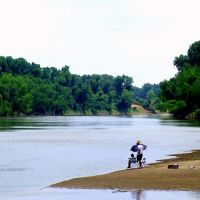 Fishing on the  Brazos River, Texas, Эль-Кампо