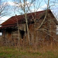Ratty little cabin on FM 331, north of Sealy, Texas, Эль-Кампо