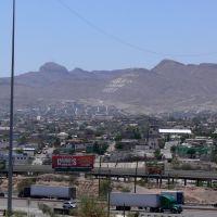 Mexico from University of Texas, El Paso (zoom 1), Эль-Пасо